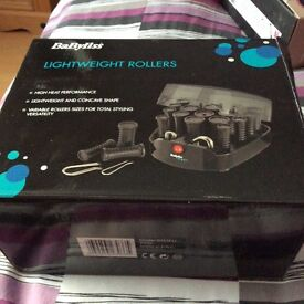 Babyliss light weight rollers