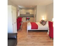 Luxury short term let studio near Addenbrookes Hospital