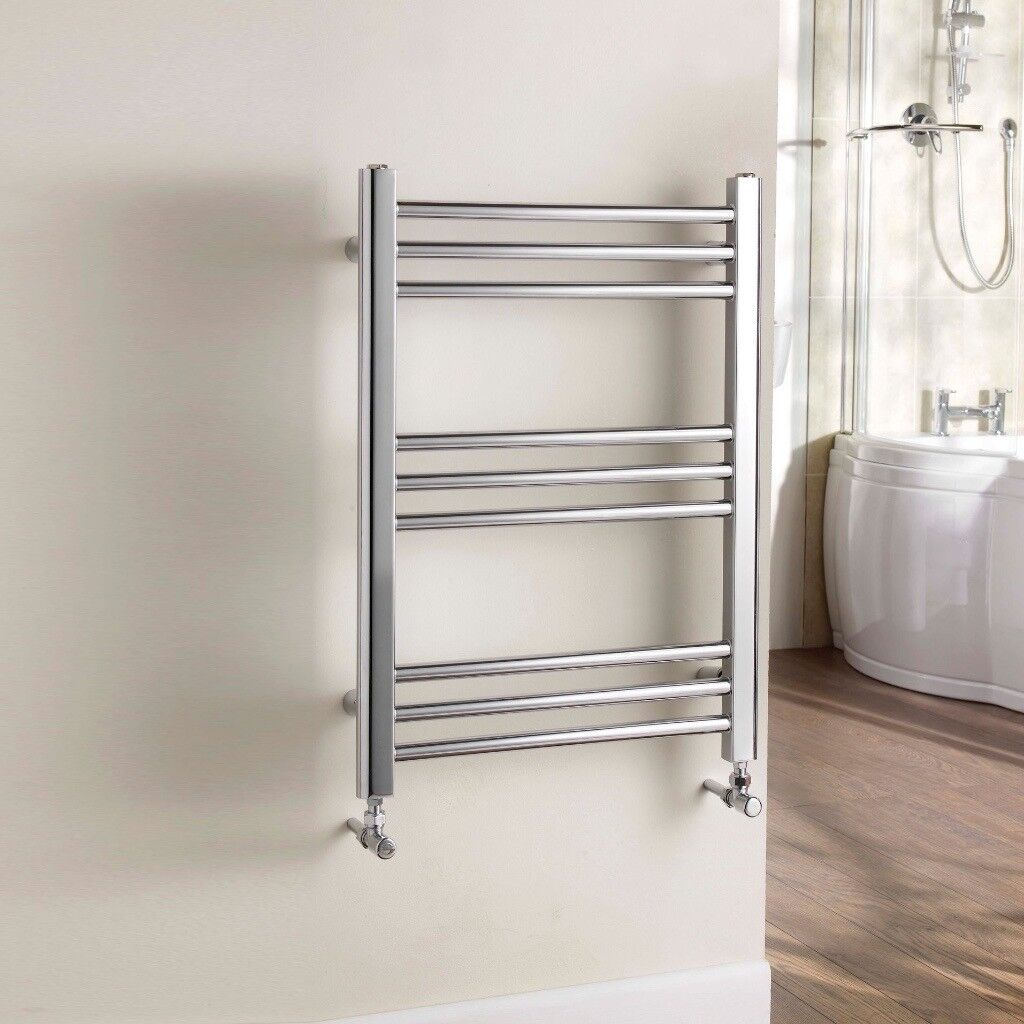 Chrome Towel Rail 600 x700mm Kudos