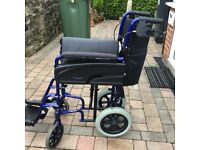 Wheelchair - Escape Lite. Light weight wheelchair ideal for occasional use