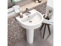 Premier Basin / Sink & Full Height Pedestal