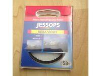 Jessops UV lens filter 58mm
