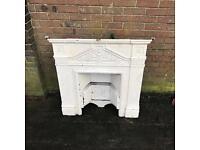 Cast iron fire insert / fire place