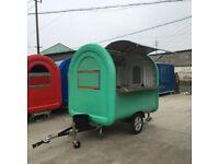 Mobile Catering Trailer Burger Van Pizza Trailer Hot Dog Ice Cream Cart 2300x1650x2300