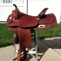 "***16"" SILVER SUPREME SADDLE***"