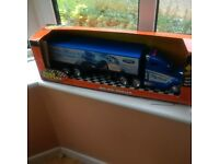 Large battery powered lorry with lights and sounds