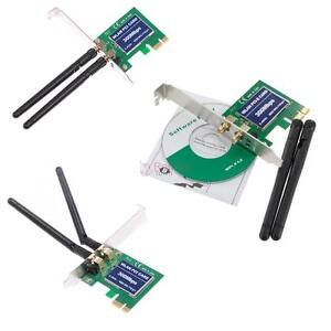 TRUE 300 mbps for your desktop computer PCI-E WLAN Adapter