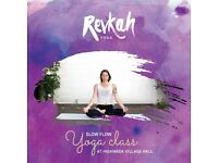 Slow Flow Yoga Class at Highweek Village Hall from Sat 14 Apr, 10:15-11:30