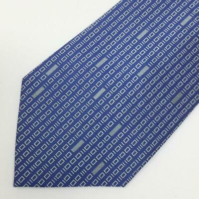 ThinkGeek Blue Binary Code Mens Silk Tie Think Geek Ties Suck Nerd Fashion Binary Code Silk