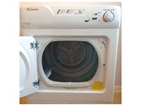 Candy GOC58F 8kg White Sensor Condenser Dryer Reverse Action 1 YEAR GUARANTEE FREE DELIVERY