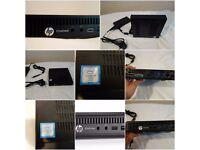 Brand New HP Elitedesk Mini Desktop PC Computer 800 g2, Intel Core i7 6th 3.6GHz Quad, 256GB SSD