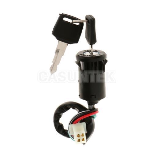 4 wire ignition key barrel switch 50cc 110cc 125cc 250cc Chinese 4 Wheeler Wiring Diagram Baja 90 ATV Wiring Diagram