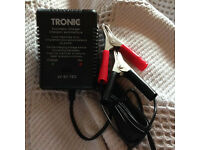 Lead battery charger 2, 6 & 12V (motorbikes etc.)