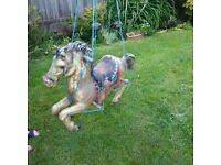 indoor or outdoor horse swing
