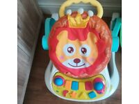 Baby seat 4 in 1, as like new