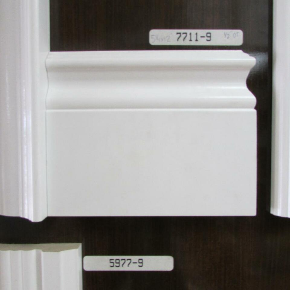 Baseboard Trim, Crown Moulding,6 & 2 Panel Doors Casing