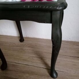 Side table - Black and White