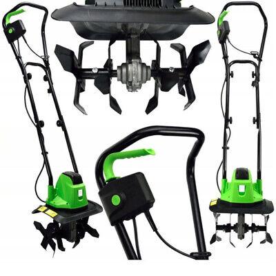 1400W Gartenfräse ElektroMotor Hackfräse Kultivator Umgräber Motorhacke 320mm