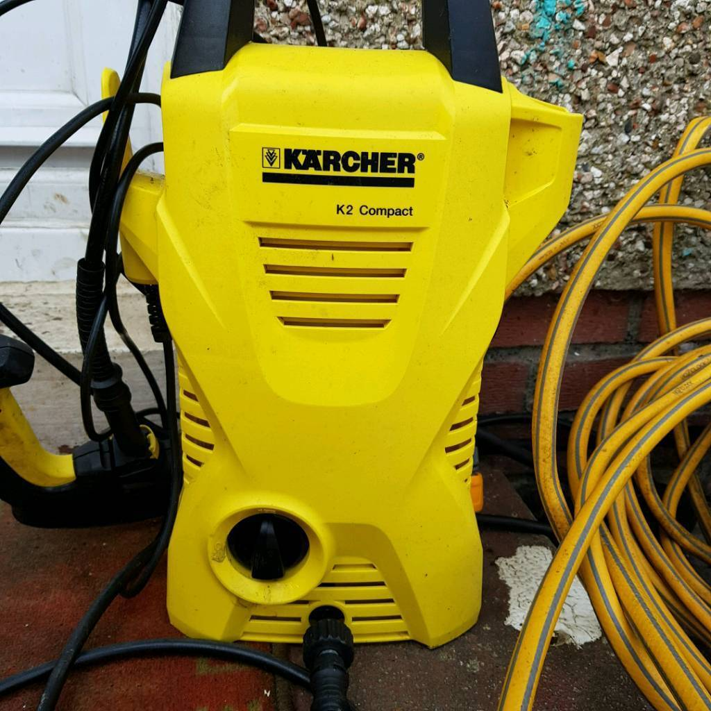 KARCHER K2 car washer with extra long house
