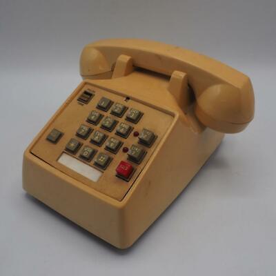 Touch-tone-telefon Telefon (Radio Shack Gelb 43-373c Drucktaste Touch Tone Telefon Vintage Requisite)