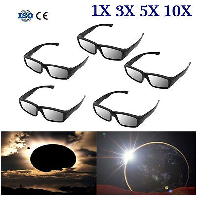 Lots Plastic Solar Eclipse Glasses Viewing Iso And Ce Certified Sun Glasses Usa