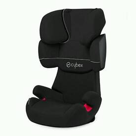 Cybex Silver Solution X Car Seat Group 2/3 (Pure Black/ Black) RRP130