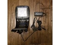 TMC MINI LED 400 TILE WHITE LIGHT & TMC AQUARAY MMS Brackets Aquarium Fish Tank