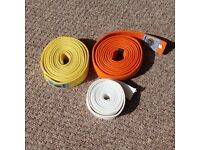 White, Yellow & Orange Meigin Ju Jitsu Belts (280cm)