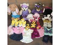 Build a Bear Bundle - selection of bears and clothes