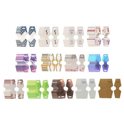 Necklace Folding Card Jewelry Bracelet Display Pre-punched Package Hang Tag