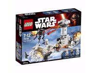 LEGO 75138 Hoth Attack Action Figure Set. Brand new in sealed box.