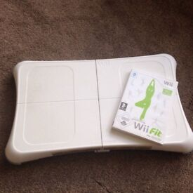 Nintendo Wii Fit and Balance Board Fully Working