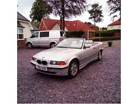 BMW E36 Convertible with 2.5