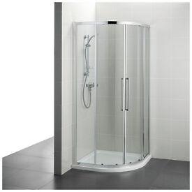 Armitage Shanks 800mm Quadrant shower enclosure