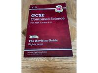 GCSE Combined Science AQA 9-1 Higher Revision Guide