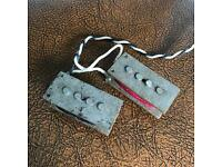 Handwound vintage style P bass precision pickups for Fender alnico