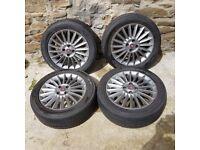 4 X Speedline 16 inch alloy wheels with 195/55 R16 Tyres