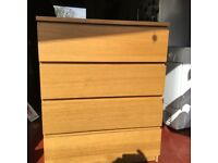 Ikea malm oak chest of drawers 4