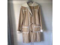 Bison Ladies Suede Coat