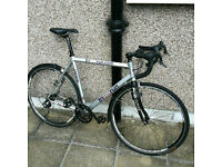 Tri n Run CX style bike with campag groupset