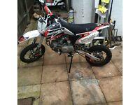 Pit bike 160cc stomp demonx new edition