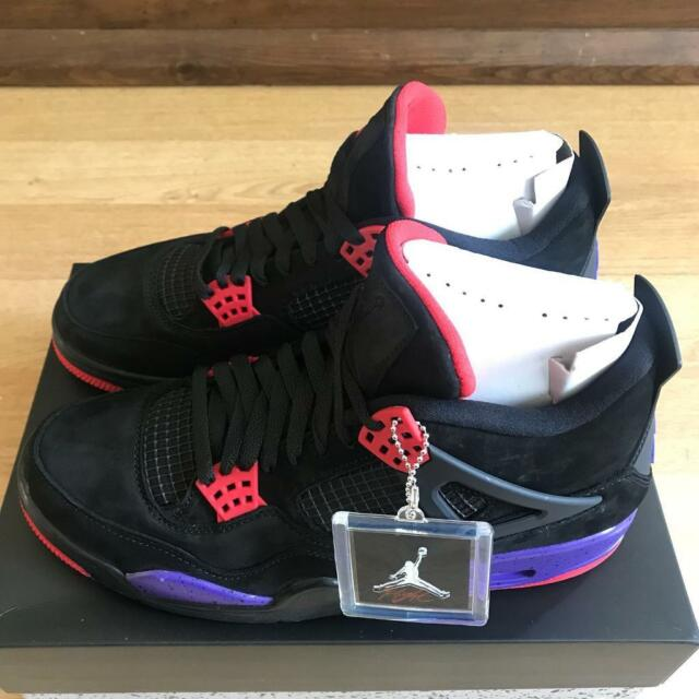 cheap for discount 847e4 52b92 Nike Air Jordan 4 Raptors UK Size 8 for sale | in Clapham Common, London |  Gumtree