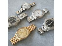 WANTED All High End Watches NATIONWIDE - Rolex, Omega, TAG Heuer, Breitling etc - Same Day Payment