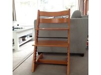 Stokke Tripp Trapp high chair and extras