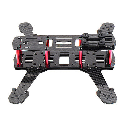 250mm Mini Multicopter Quadcopter Racing Drone Empty Carbon Frame Kit FPV ED