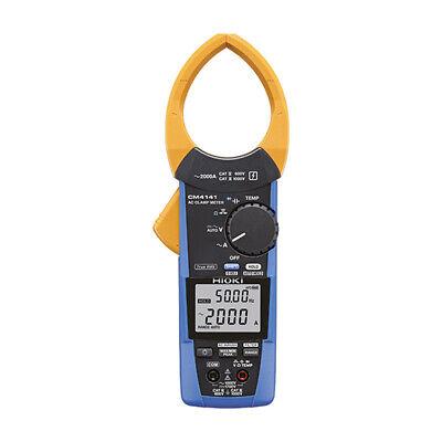 Hioki Cm4141 True-rms Clamp Meter Ac 60 To 2000a W Innovative Current Sensor