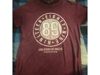 Oversized topman T-shirt