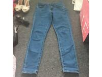 ASOS light blue denim jeans