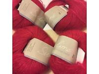 [RESERVED] Free to collector - yarn - Sublime Kid Mohair Blend 4 x 25g