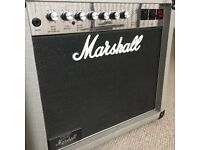 Marshall 2554 Silver Jubilee 25/50 50w Guitar Valve Tube Amp - collectors paperwork